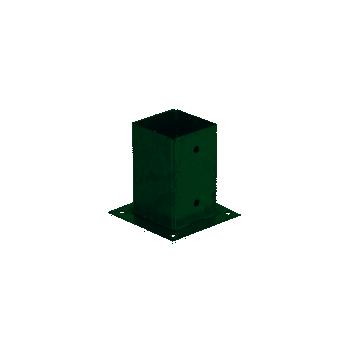 Anclaje metálico 9X9 cuadrado