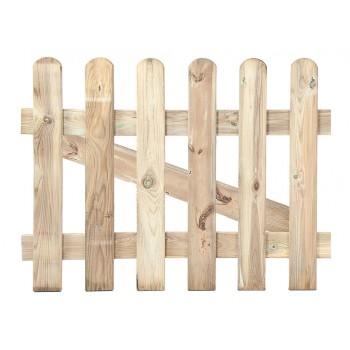 Puerta clásica de madera...