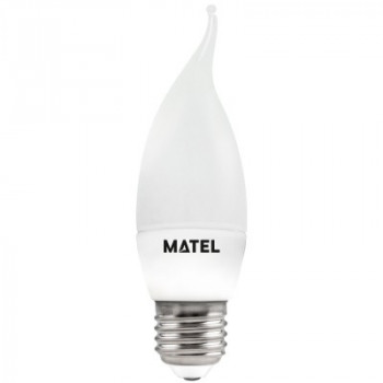 Bombilla LED Vela flama E27...