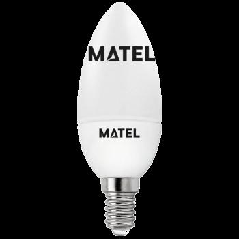 Bombilla LED vela AL/PC...