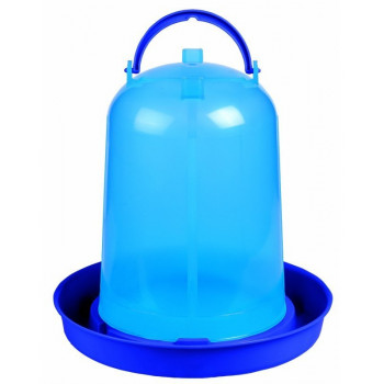 Bebedero ECO pollos 3L azul