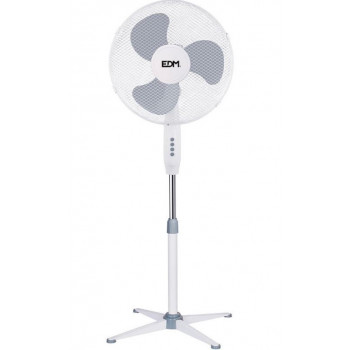 Ventilador pie 45W 40 cm...