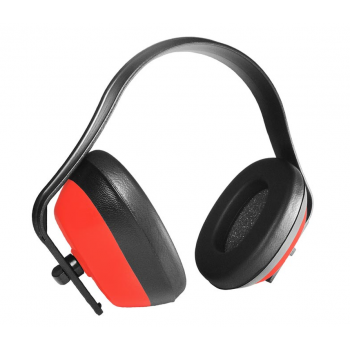 Casco orejera rojo EN352...