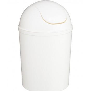 Cubo de basura color blanco...