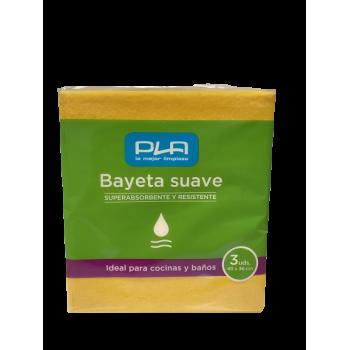 Bayetas suaves Pla pack 3uds.