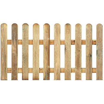 Valla clásica madera 80 x 1.80